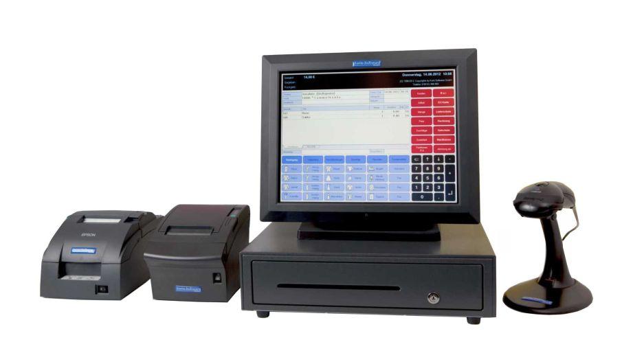 Kassensystem inkl. Scanner und Bondrucker